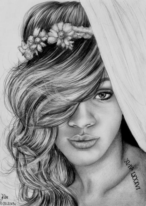 Rihanna by AffichE